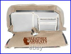 00 01 Ford Excursion Limited Second Row Bench Bottom Leather Seat Cover Tan