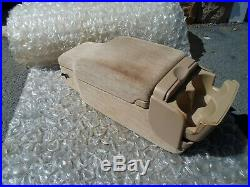 00-05 Buick Lesabre Center 60/40 Bench Seat Console LID Arm Rest Cup Holder Oem
