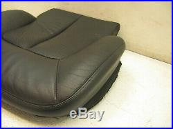 00-06 Mercedes W215 Cl55 Cl600 Cl500 Lower Seat Skin Driver Left Front 4919