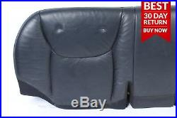 00-06 Mercedes W220 S430 Rear Lower Bottom Bench Seat Cushion Cover Black A22