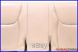 00-06 Mercedes W220 S430 Rear Lower Bottom Bench Seat Cushion Cover Saffron OEM