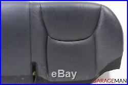 00-06 Mercedes W220 S430 S500 Rear Lower Bottom Bench Seat Cushion Cover OEM