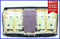 03-06 Mercedes W220 S55 AMG Rear Right & Left Top Upper Seat Cushion Cover A111