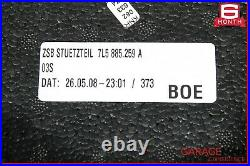 08-10 Porsche Cayenne 957 Rear Lower Bottom Bench Seat Cushion Suede Alcantara