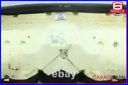 08-14 Mercedes W204 C250 Rear Lower Bottom Bench Seat Cushion Cover Black OEM