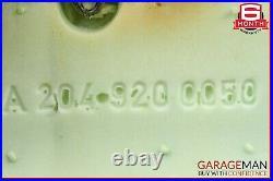 08-14 Mercedes W204 C300 Rear Lower Bottom Bench Seat Cushion Cover Beige OEM