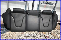 09-16 Audi A4 B8 Rear Lower Bottom Seat Cushion Cover Black 8K0885375G OEM