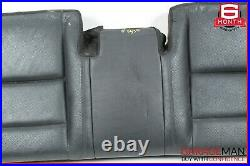 10-13 Mercedes W221 S400 S550 Rear Lower Bottom Bench Seat Cushion Cover Black