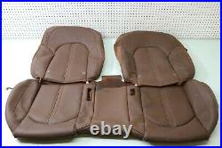12 13 14 2013 2014 Audi A8l A8 D4 Rear Seat Back Seat Bench Skin Cover Leather