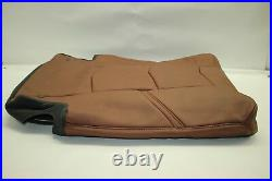 15-17 ESCALADE 2nd Row LEATHER 40% Bench Top Seat Cover Brown Vecchio OEM