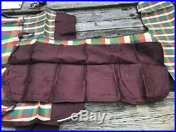 1930s 1940s 1950s vintage bench seat cover set