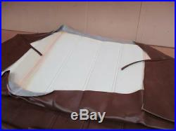 1947 48 49 50 51 52 53 54 55 (1st ser.) Chevy Truck Bench Seat Cover Brown NEW