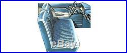 1963 Falcon 4 Door Sedan Front Bench Seat Cover 2 Tone Blue