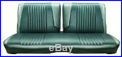 1963 Ford Galaxie 500 Front Split Bench Seat Cover 2 Tone Blue