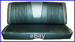 1963 Ford Galaxie 500 Hardtop Rear Bench Seat Cover Chestnut