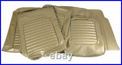 1964-1965 Mustang Vinyl Seat Cover Set Conv Std Front Bench & Rear-Ivy Gold