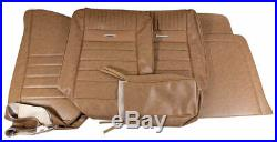 1964-1966 Mustang Deluxe Pony Front Bench Seat Cover-Palomino