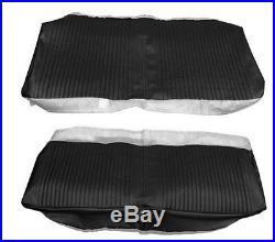 1964 Chevrolet Chevelle Coupe Rear Bench Seat Cover Black