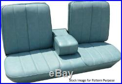 1966 Cadillac DeVille Bench with Armrest Front Seat Cover