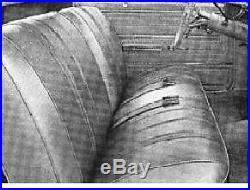 1966 Chevelle Split Bench Seat Cover Legendary