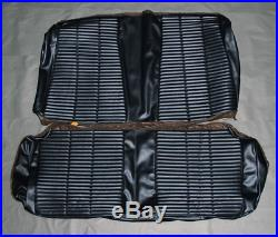 1966 Coronet 500 Coupe Rear bench seat cover. Color Black