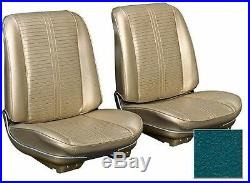 1966 GTO LeMans Front Bucket Or Bench Upholstery Seat Cover Set -Factory Correct