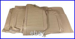 1966 Mustang Standard Front Bench & Rear Seat Cover Set-Parchment