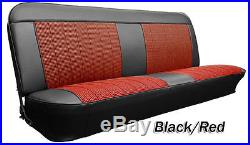 1967 1968 C10 Chevy & GMC Truck Houndstooth Bench Seat Cover