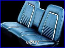 1967 1968 Chevy Camaro Standard Front Bench Seat Cover/ Armrest Pair 5 Colors