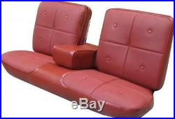 1967 Cadillac DeVille Bench with Armrest Front Seat Cover