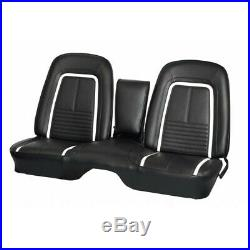 1967 Chevrolet Camaro Deluxe Front Bench With Armrest Seat Cover