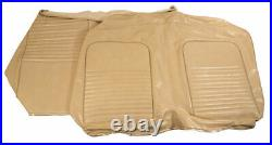 1967 Mustang Rear Convertible Bench Vinyl Seat Cover-Parchment