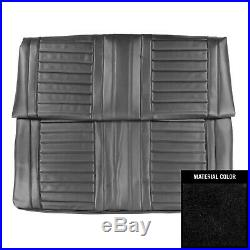 1967 Oldsmobile Cutlass Holiday/442 Convertible Black Rear Bench Seat Cover