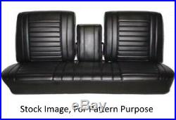 1967 Oldsmobile Cutlass Holiday & Supreme Bench with Armrest Front Seat Cover