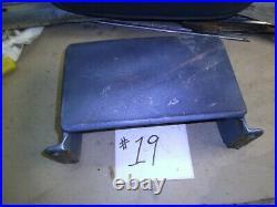 1968 1969 Chevelle Malibu Monte Gto Skylark Bench Armrest Hinge Trim Cover MIDDL
