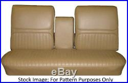 1968 Buick Skylark Custom GS 400 & 350 Bench with Armrest Front Seat Cover
