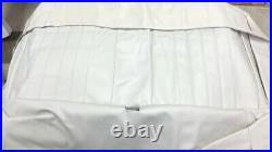 1968 Chevelle Seat Cover Bench front White