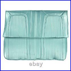1968 Oldsmobile Cutlass Supreme Hardtop Light Blue Rear Bench Seat Cover