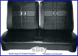 1968 Plymouth Road Runner & Satellite Split Bench Front Seat Cover