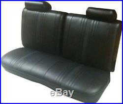 1969 1971 Chevy II Nova & SS Std & Custom Interior 2dr Bench Front Seat Cover