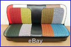 1969-72 Chevy Truck Houndstooth Seat Cover Bench Seat C-10 Cheyenne