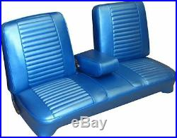 1969 Plymouth Barracuda Bench with Armrest Front Seat Cover