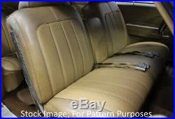 1970 Buick Skylark Custom GS 350 & 455 Bench with Armrest Front Seat Cover
