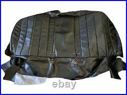 1970 Buick Skylark/grand Sport Split Bench Seat Cover Black