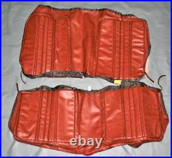 1970 Satellite Road Runner coupe Rear bench seat cover with Deluxe Interior