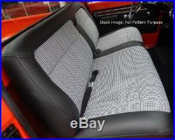 1971-1972 Chevrolet Cheyenne & Blazer Deluxe Interior Bench Front Seat Cover