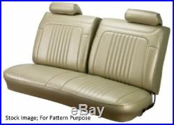 1971-72 Chevy Chevelle & El Camino Front Bench Seat Cover