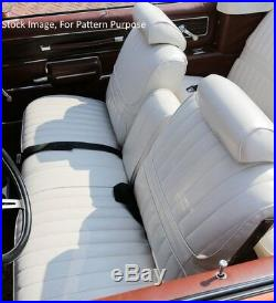 1971 Oldsmobile Cutlass Supreme Bench with Armrest Front Seat Cover
