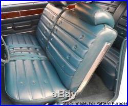 1972 Oldsmobile Cutlass S Split Bench Front Seat Cover