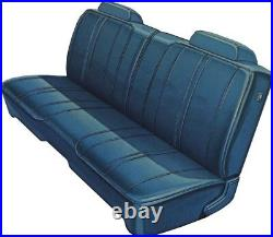 1972 Plymouth Road Runner / Satellite Front Split Bench Seat Cover PUI
